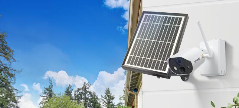 Solar Powered Security Camera