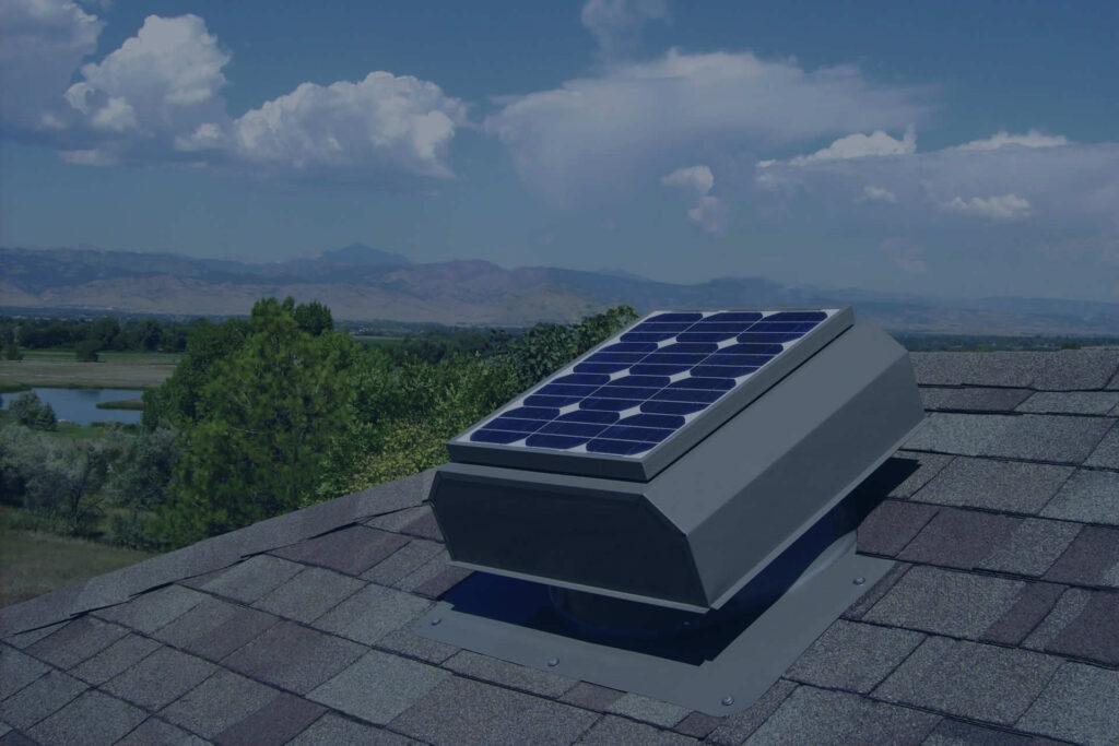 Solar Powered Attic Fanss