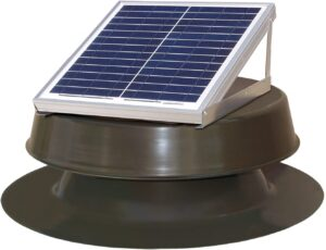 Natural Light 12 Watt Solar Attic Fan