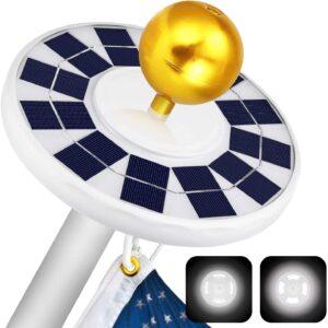 Ffresiss Solar Flag Pole Light
