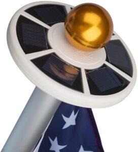 Sunnytech 2nd Generation Solar Flag Pole Light