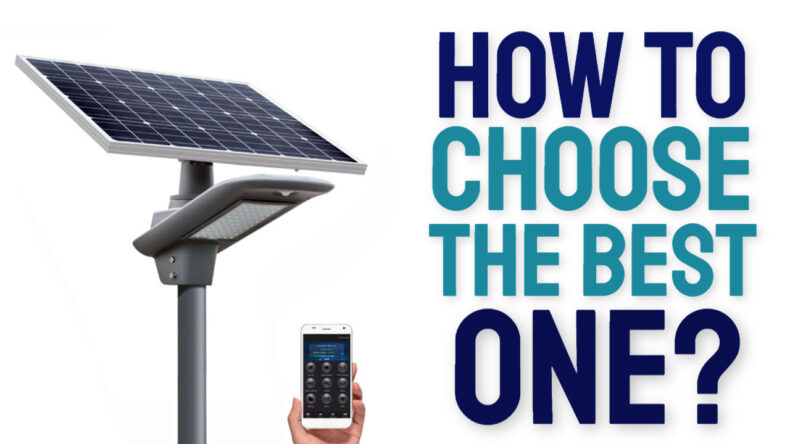 buying guide solar street light
