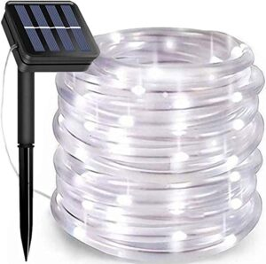 KUshopfast Solar Rope Lights