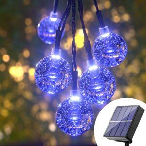 Waterproof Patio Lights Solar For Garden Patio
